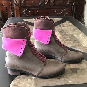 Cole Han Leather Boots
